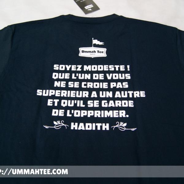"T-shirt ""Islam made me a better man"""