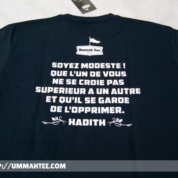 T-shirt «Islam made me a better man»